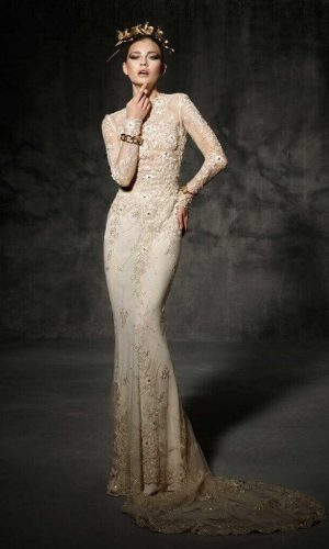 Bruc Wedding Dress (front)