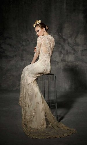 Bruc Wedding Dress (back)