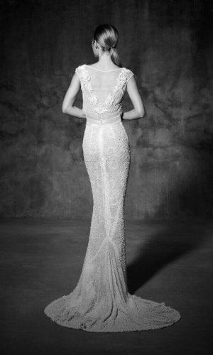 Guinardo 1 Wedding Dress (back)