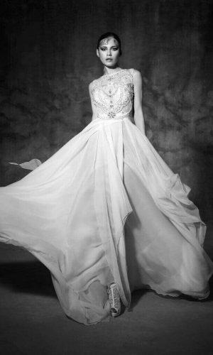 Noguera Wedding Dress (front)