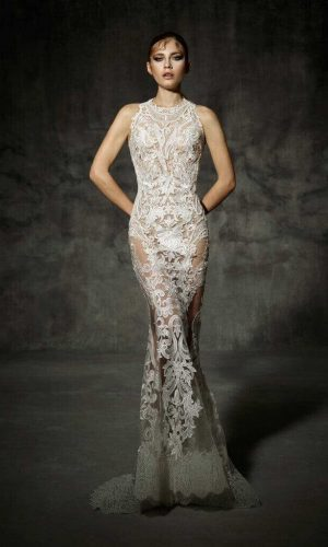 Villamari 3 Wedding Dress (front)
