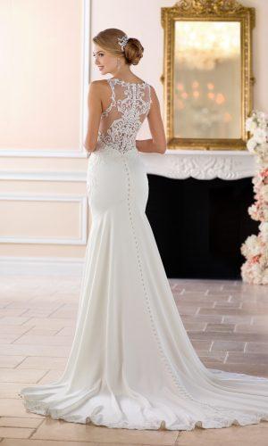 Stella York 6404 Wedding Dress (back) 04