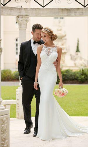Stella York 6404 Wedding Dress (front)t 02