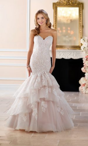 Stella York 6405 Wedding Dress (back) 01