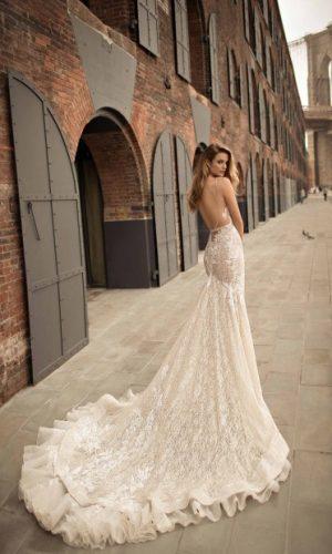 Berta 18 14 3 Wedding Dress (back)