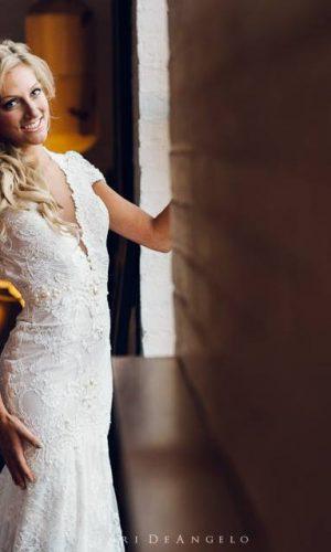 Jessica in Berta Wedding Dress