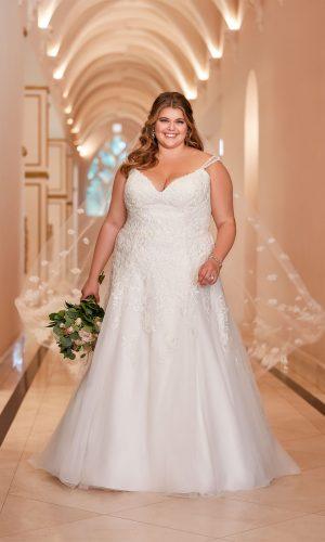 Stella York 66121c Ebeb Wedding Dress (front)