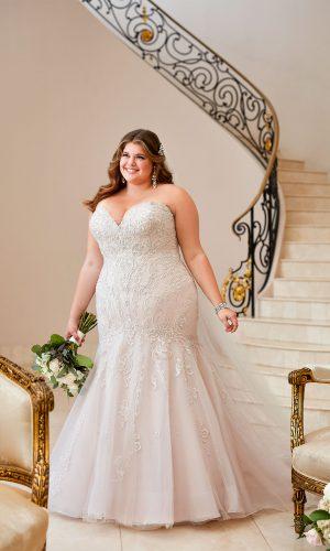 Stella York 6654 Dmlu Ebeb Wedding Dress (front)