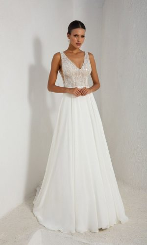 Justin Alexander 88003 Wedding Dress (front)