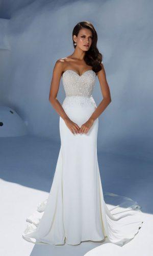 Justin Alexander 88004 Wedding Dress (front)
