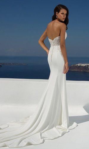 Justin Alexander 88004 Wedding Dress (back)