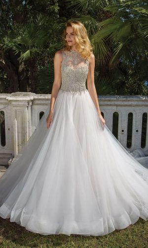 Justin Alexander 88062 Wedding Dress (front)