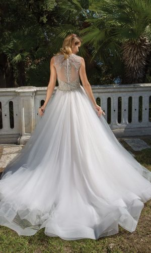 Justin Alexander 88062 Wedding Dress (back)