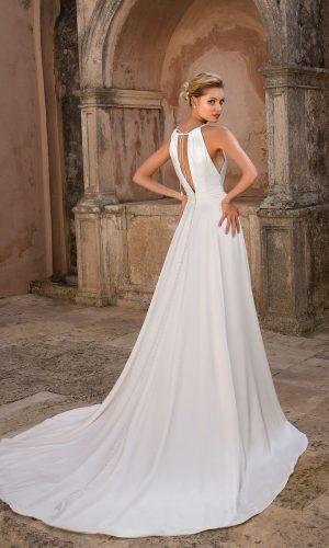 Justin Alexander 88064 Wedding Dress (back)