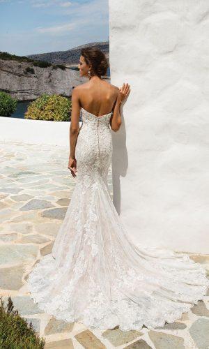 Justin Alexander 8920 d Wedding Dress (back)