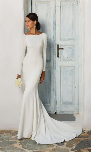 Justin Alexander 8936 Wedding Dress (front)
