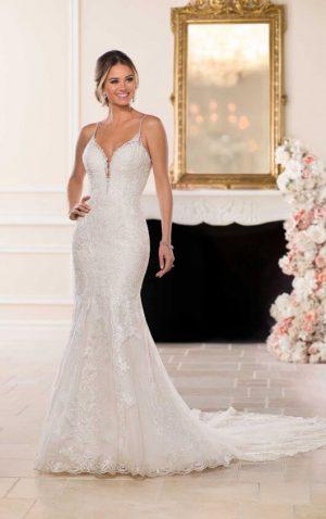 Stella York 6574 Wedding Dress (front)