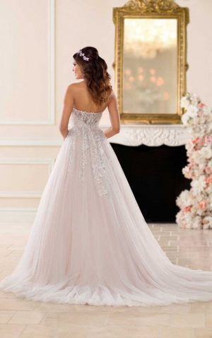 Stella York 6692 2 Wedding Dress (back)