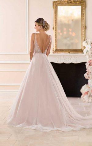 Stella York 6724 2 Wedding Dress (back)