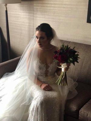 Alyssa in Berta Wedding Dress