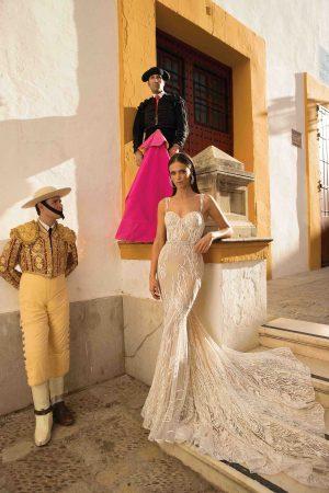 Berta 18 103 1 Wedding Dress (front)