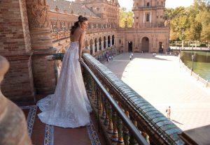 Berta 18 104 1 Wedding Dress (back)