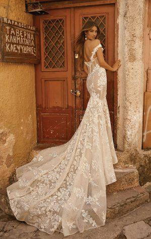Berta 19 101 2 Wedding Dress (back)
