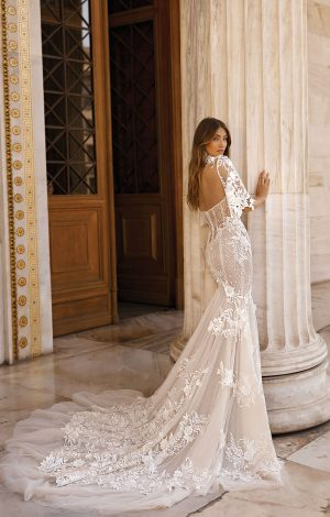 Berta 19 103 1 Wedding Dress (back)