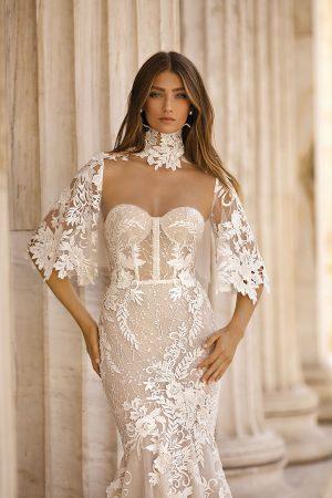 Berta 19 103 2 Wedding Dress (front)