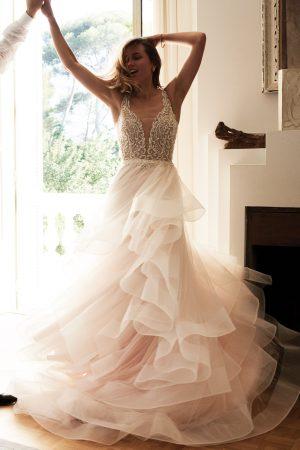 Justin Alexander 88059 Wedding Dress (front)