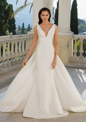 Justin Alexander 88071 Wedding Dress (front)