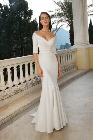 Justin Alexander 88079 Wedding Dress (front)