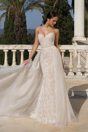 Justin Alexander 88085 Wedding Dress (front)
