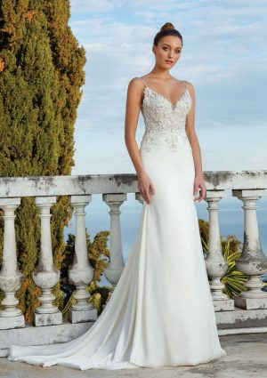 Justin Alexander 88119 Wedding Dress (front)