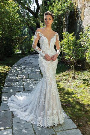 Justin Alexander 88120 Wedding Dress (front)