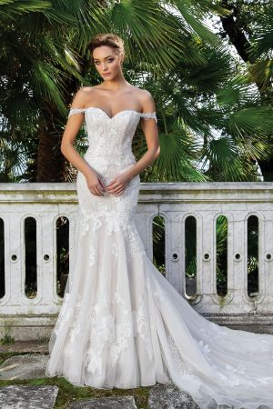 Justin Alexander 88123 Wedding Dress (front)
