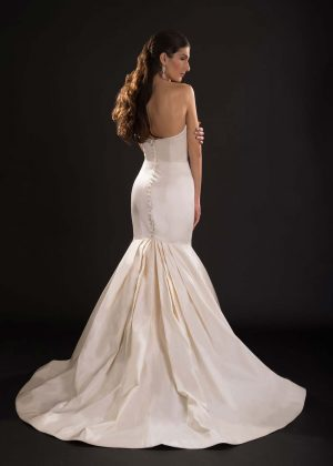 JJ Bette Wedding Dress (back)