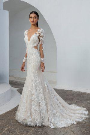 Justin Alexander 88010 Wedding Dress (front)