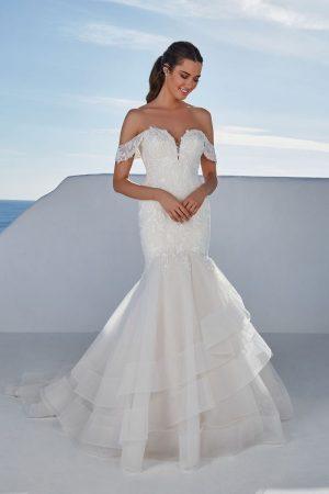 Justin Alexander Wedding Dress Breslin
