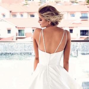 PT Girona Wedding Dress (back)