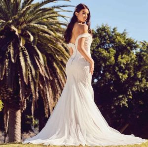PT Sauternes Wedding Dress (back)