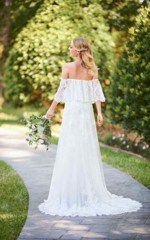 Stella York 6810 Wedding Dress (back)