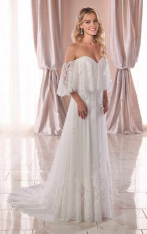 Stella York 6810 Wedding Dress (front)