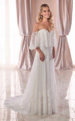 Stella York 6810 Wedding Dress (front)