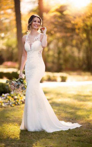 Stella York 6916 Wedding Dress (front)