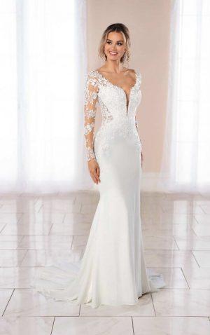 Stella York 6994 Wedding Dress (front)