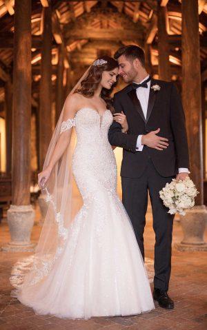 essense wedding dress d2518