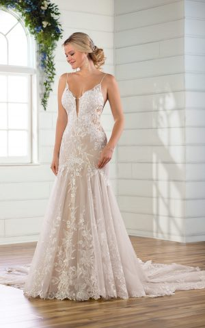 essense wedding dress d2770