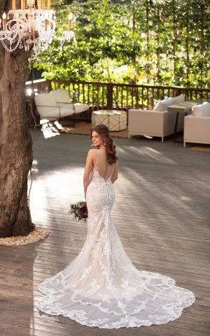 essense wedding dress d2771