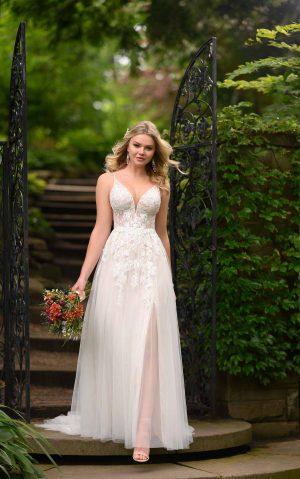 essense wedding dress d2840